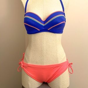 Mossimo Coral Bikini Bottoms